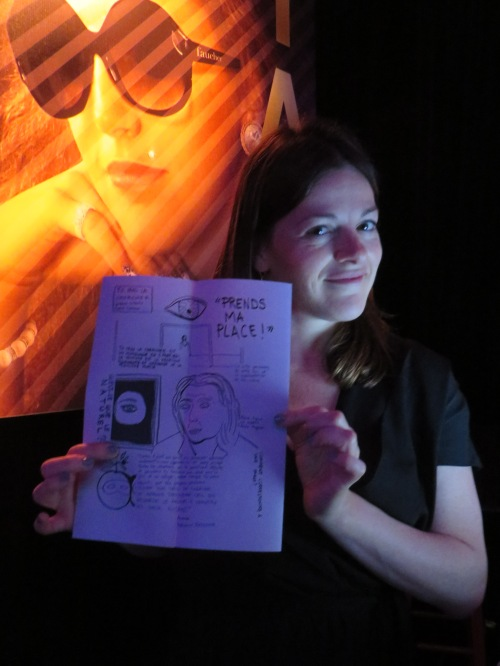 Eux aussi aiment medusine  - Sophie Cadieux - FTA2015 Festival TransAmériques