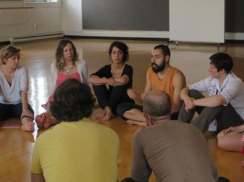 rencontres internationales de jeunes créateurs et critiques