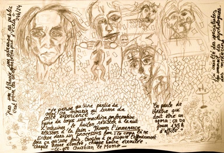 Tout Artaud ?!, 48h avec Christian le Momo